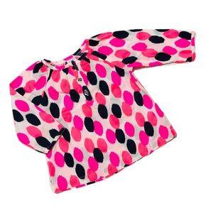 NWOT Carter's Long Sleeve Dress w/Buttons 6mo